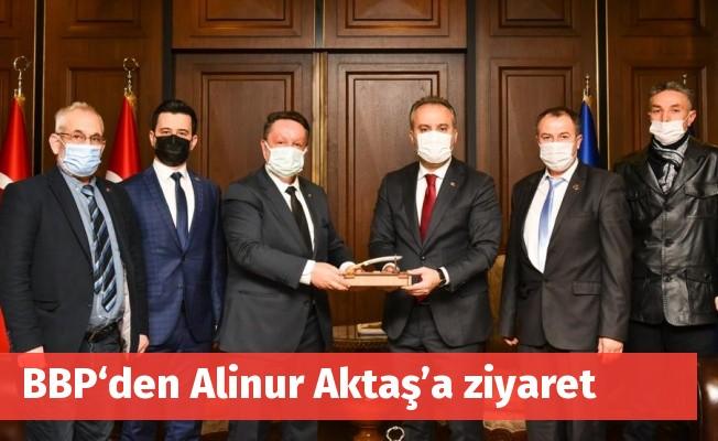 BBP'den Alinur Aktaş'a ziyaret