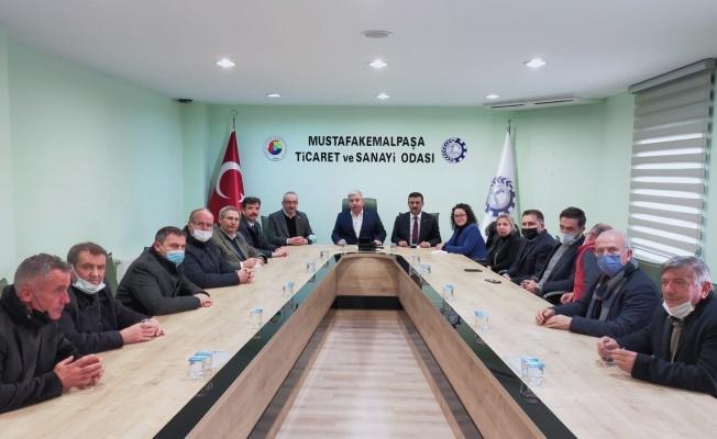 İYİ Parti'den Mustafakemalpaşa Çıkarması