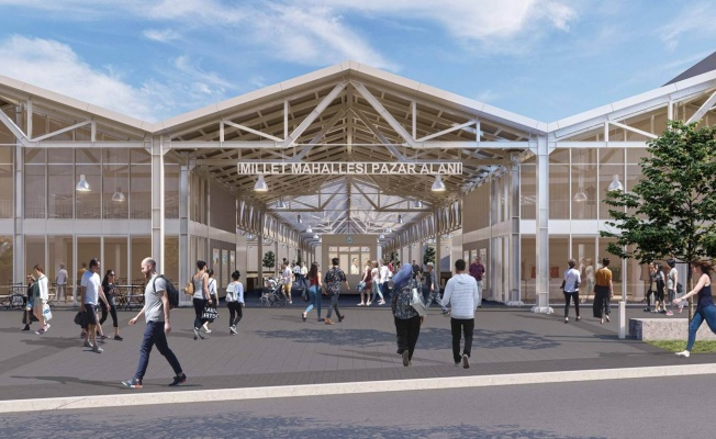 Modern Pazar Alanlarının Kapıları Yıldırım'a Açılıyor