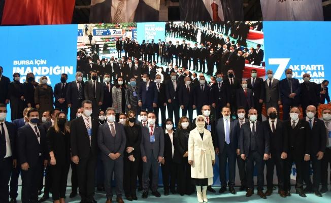 AK Parti Bursa 7. Olağan Kongresi Tamamlandı