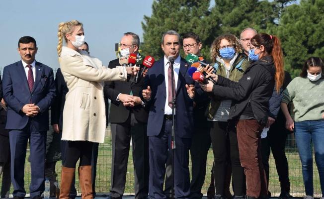 Bursa'da 6 partiden ortak 'Yunuseli' açıklaması