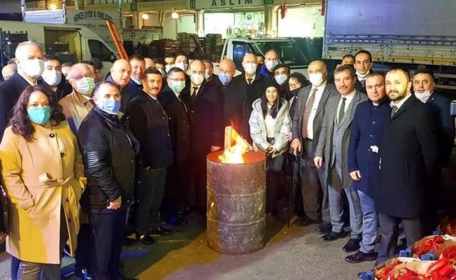 Bursa İYİ Parti'den Şafak Ziyareti