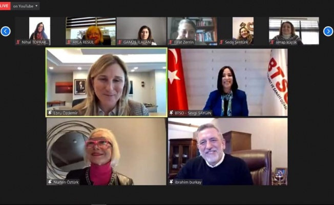 'İlham Veren Başarı Hikayeleri'nin Konuğu Ebru Özdemir Oldu
