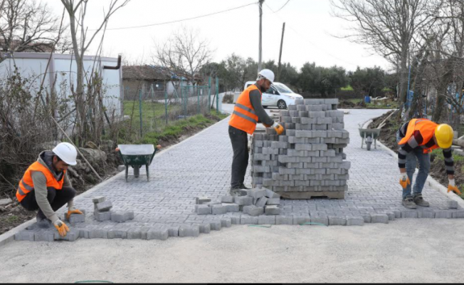 Mudanya'ya 30 Bin Metrekare Parke Çalışması
