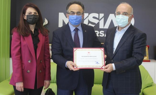 Osmangazi Kaymakamı Orhan'dan MÜSİAD'a Ziyaret