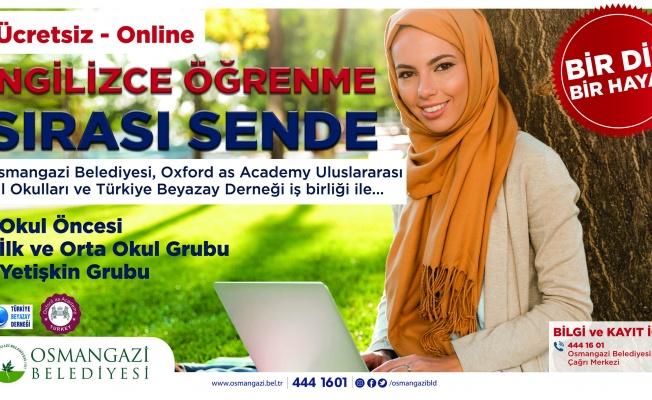 Osmangazi'den Online İngilizce Kursu