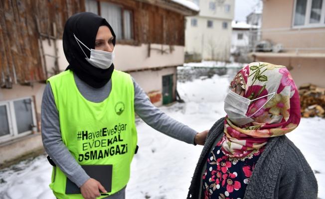 Osmangazi'den Yürek Isıtan Yardım