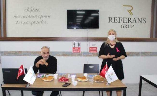 """Referans Catering'de """"kanser"""" semineri…"""
