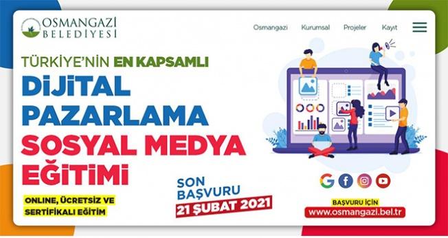Türkiye'nin En Kapsamlı Dijital Pazarlama Eğitimi