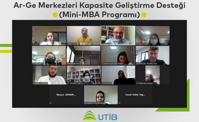 UTİB'de 'AR-GE Geliştirme' Mesaisi