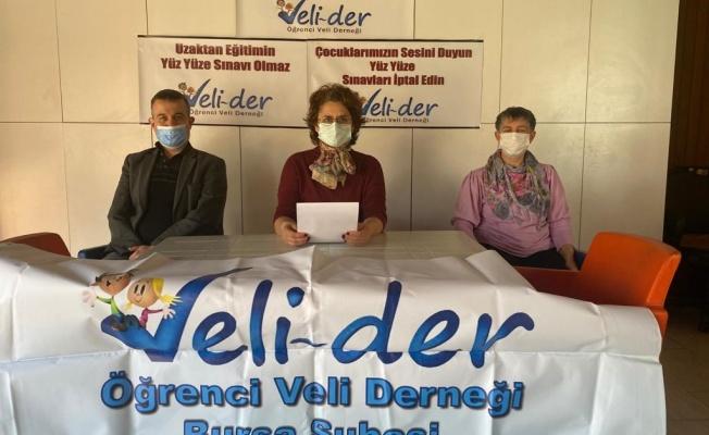 """Veli-Der: """"Sınavlar İptal Edilsin!"""""""