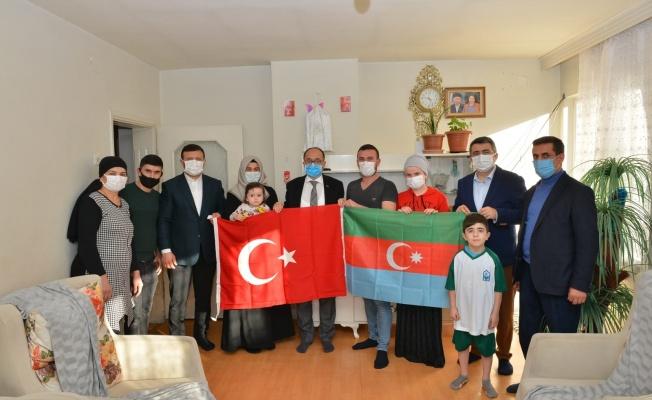 Yılmaz'dan Azerbaycanlı Şehit Ailelerine Ziyaret