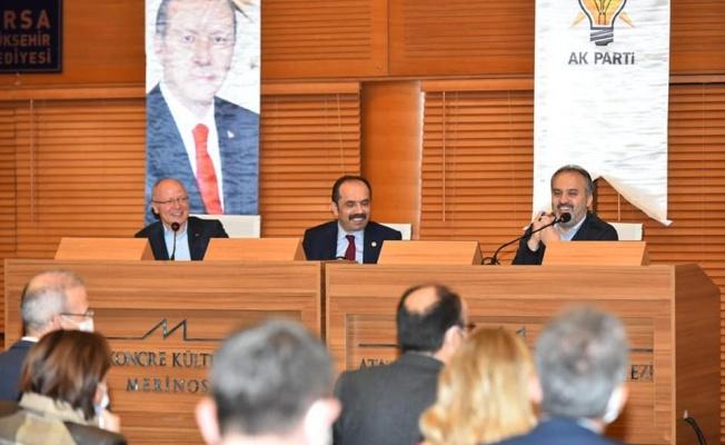 Ak Parti Bursa Teşkilatları Tarihi Güne Hazır
