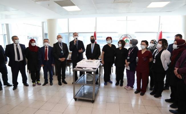 Başkan Alper Taban'dan Tıp Bayramına Özel Ziyaret