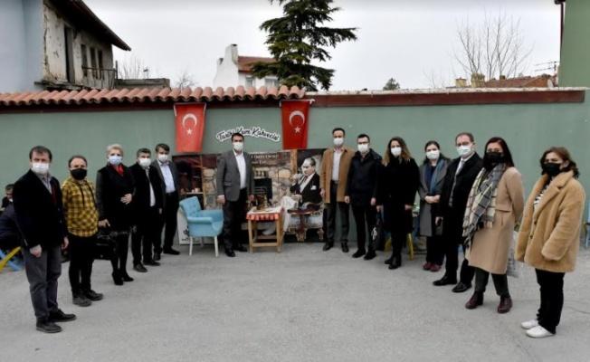 Başkan Dündar, Odunpazarı Belediyesi'ni Ziyaret etti
