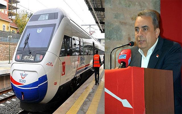 """Başkan Karaca'dan Hızlı Tren tepkisi: """"Boş vaatler zaman kaybı"""""""