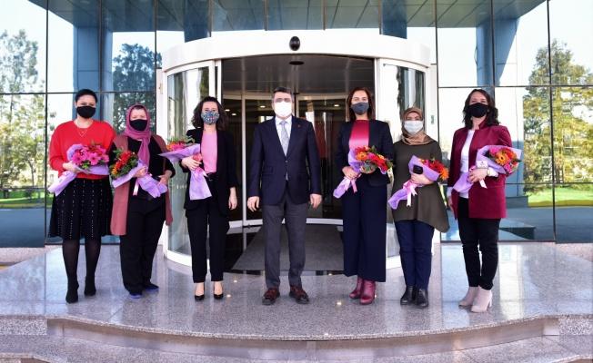 Başkan Yılmaz'dan Yeşim Tekstil'e Ziyaret