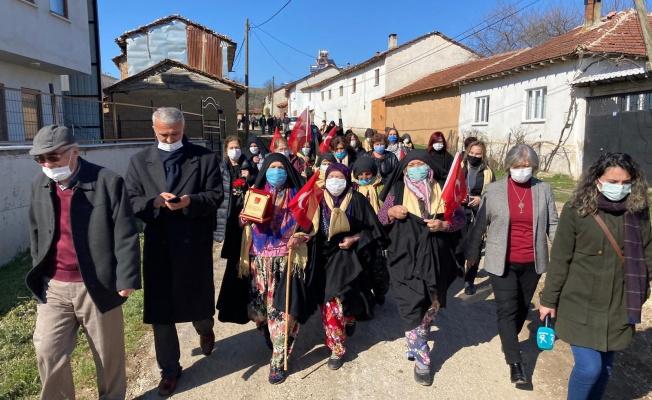 CHP'lilerden Kirazlıyayla'ya dayanışma ziyareti