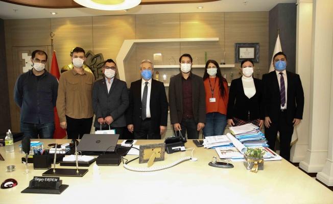 EKPSS kursiyerlerinden Başkan Erdem'e teşekkür