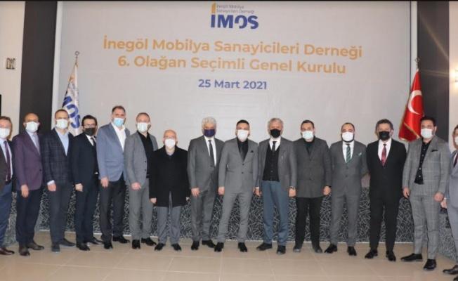 İMOS'ta Yeni Başkan Osman Aybil Oldu
