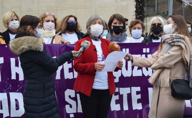 İstanbul Sözleşmesi'nin feshedilmesine CHP Kadın Kolları'ndan tepki