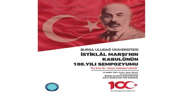 İstiklal Marşı, kabulünün 100. yılında BUÜ'de kutlanacak