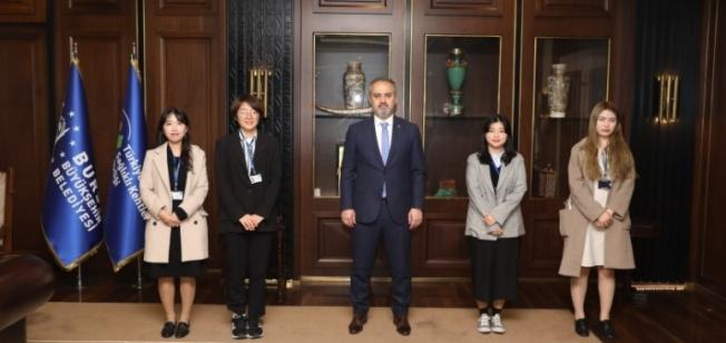 Koreli stajyerleri iki ülke arasında turizm elçisi olacak