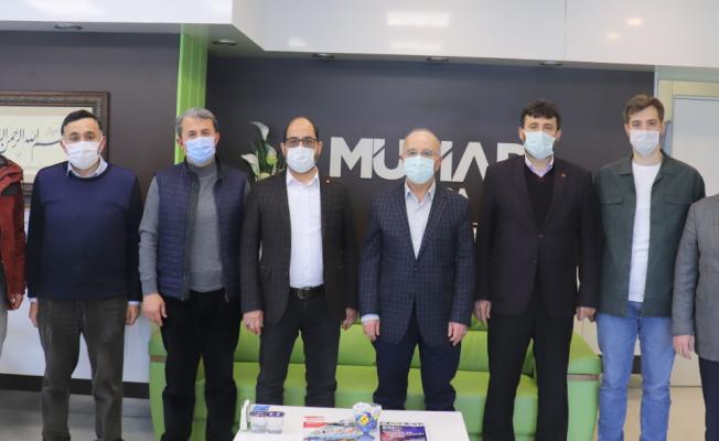 MMG Bursa'dan MÜSİAD'a Hayırlı Olsun Ziyareti