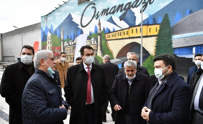 Osmangazi'den Beşi Bir Yerde Hizmet