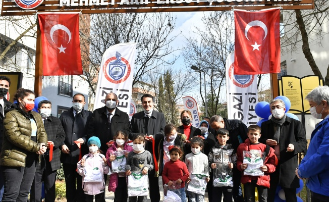 Osmangazi'den Orhangazi'ye Çocuk Parkı