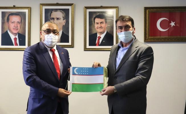 """Özbekistan'ın Bursa F.Konsolosu Ali Baklan: """"Ekonomik İlişkileri Geliştirmeliyiz"""""""