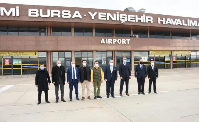 Sivil Havacılık için ilk uçuş Milletvekili Atilla Ödünç'ten