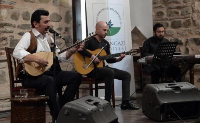 Türk Dünyasından Ezgiler Osmangazi'de Seslendirildi
