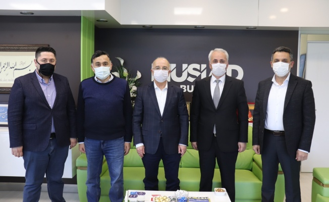 Vergi Dairesi Başkanı'ndan MÜSİAD'a İade-İ Ziyaret