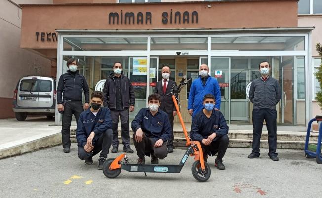 Bursa Mimar Sinan MTAL'Den Elektrikli Scooter