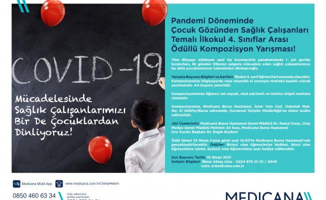 Çocuk Gözünden Sağlık Çalışanları'' Temalı Kompozisyon Yarışması