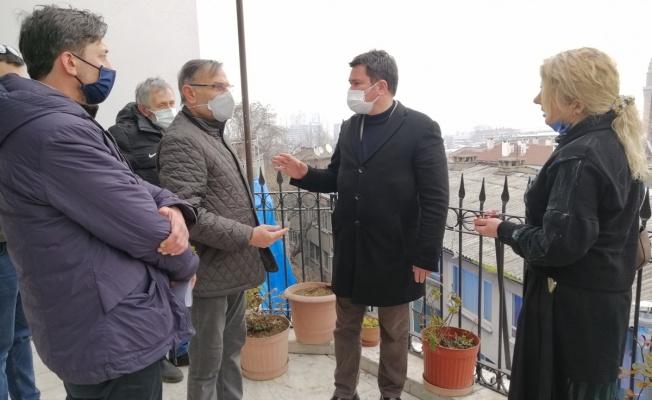 Erkan Aydın Mağdur Kavaklı Sakinlerini Yalnız Bırakmadı