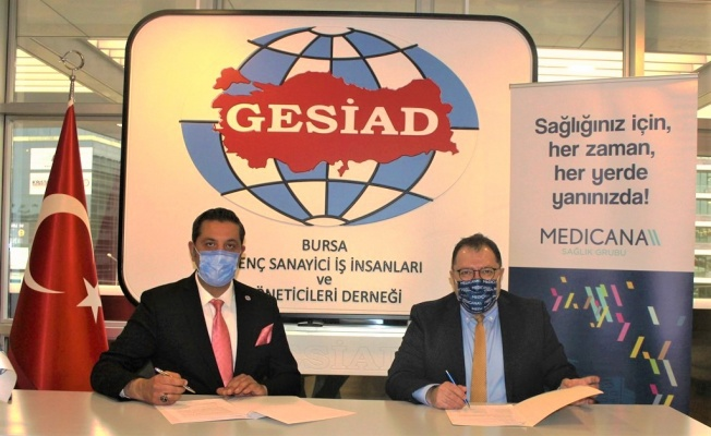 GESİAD İle Medicana Arasında İşbirliği Protokolü