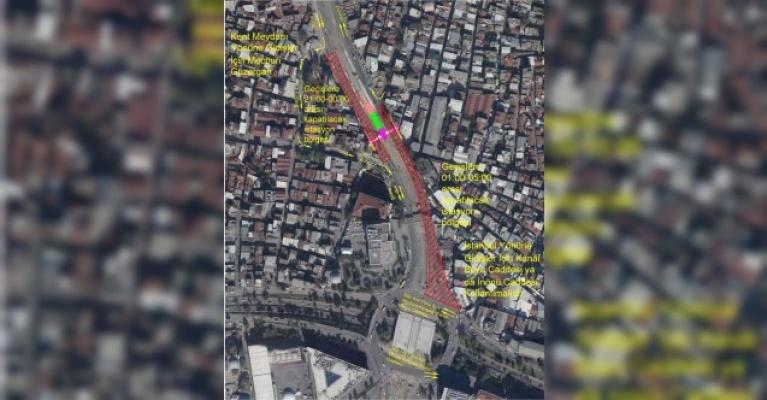 İstanbul Caddesi trafik düzenlemesi