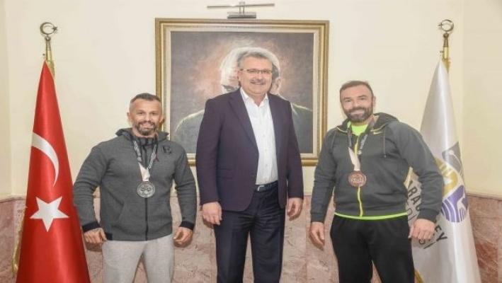 Karacabey'in spordaki başarıları gurur veriyor