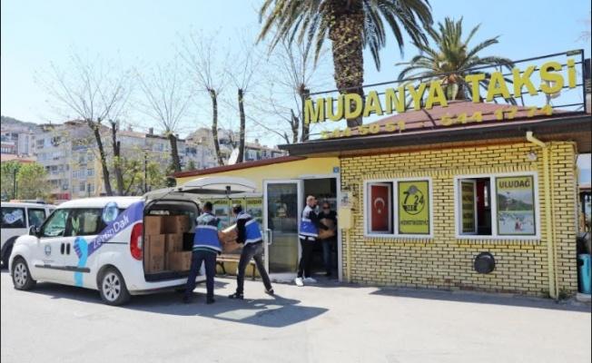 Mudanya Belediyesi Şoför Esnafıyla Dayanışma İçinde