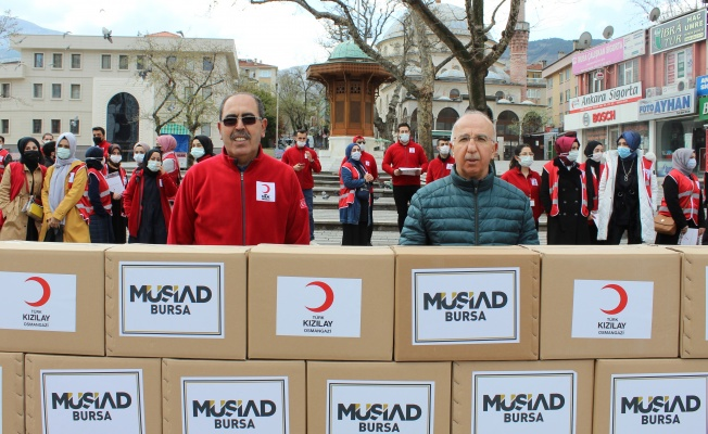 MÜSİAD Ramazan Yardımlarını Başlattı