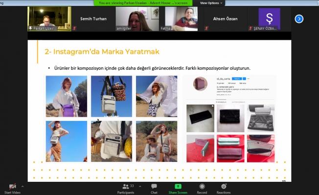 Nilüferli kadınlara sosyal medyada satış eğitimi