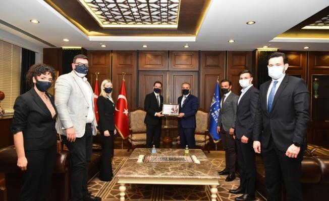 TÜGİAD Bursa'dan Başkan Aktaş'a Ziyaret