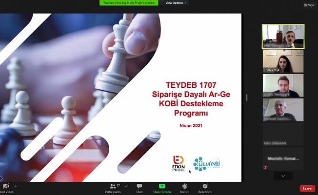 ULUTEK, Firmaları Siparişe Dayalı AR-GE İçin Teşvik Ediyor