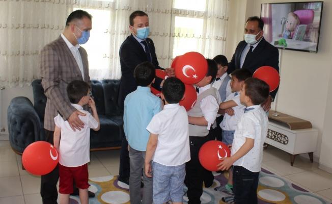 Vekil Kılıç Yetiştirme Yurdundaki Çocukların Bayramını Kutladı…
