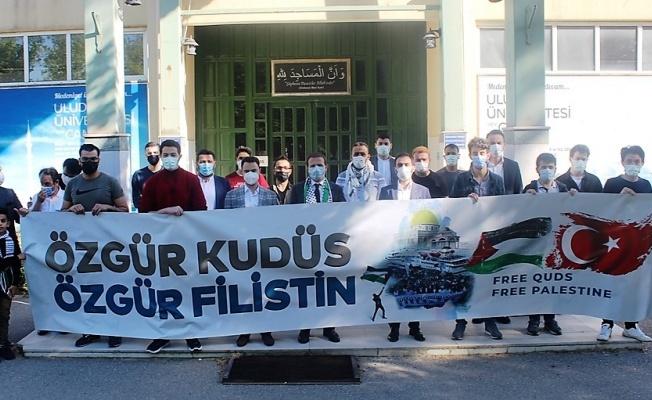AK Partili Vekil Kılıç'tan BUÜ'deki Filistinli Öğrencilere Destek