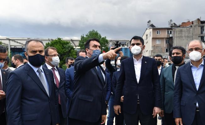 """Bakan Kurum: """"Osmangazi Meydanı önemsediğimiz bir proje"""""""
