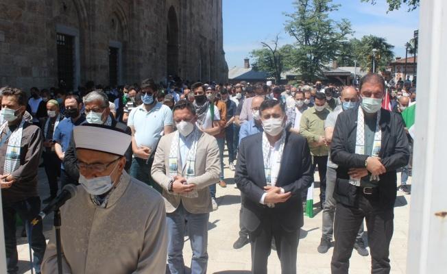 BGKP Üyelerinden Filistinli Şehitler İçin Gıyabi Cenaze Namazı