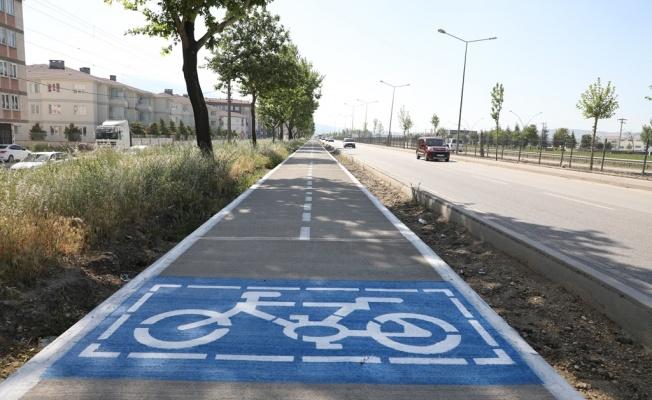 Bisiklet Yolunda İkinci Etap Çalışmaları Başladı